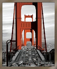 Obraz New York most Golden gate 40x50cm