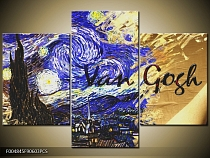 Obraz Vincent Van Gogh - Starry Night