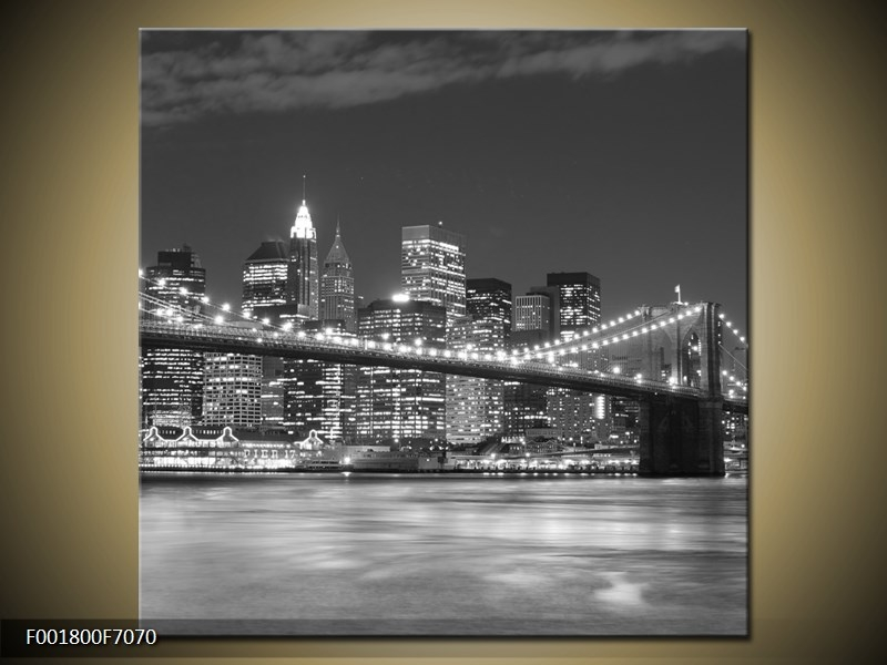 Obraz New York most Brooklyn Bridge