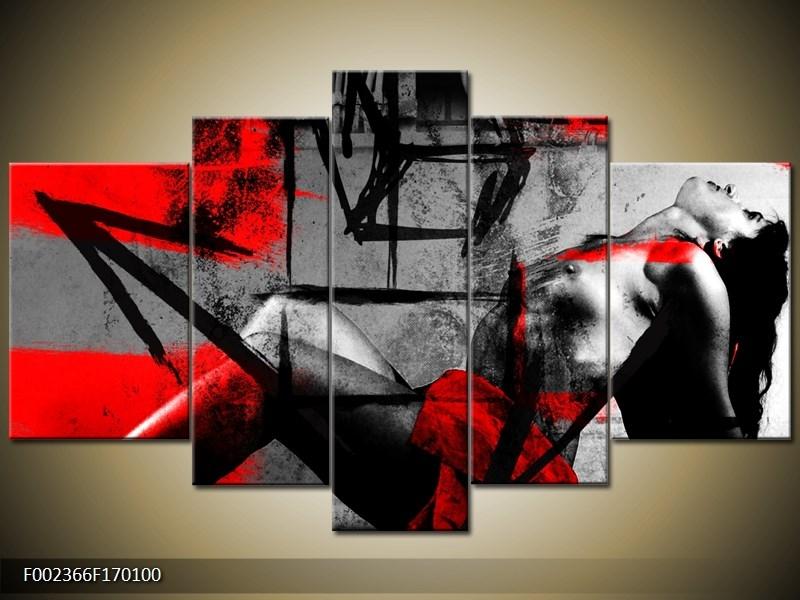 Obraz - Žena bez tváre. žena bez tváre, Obrazy do bytu, obrazy ručne maľované, obrazy na plátne, Obraz je ponúkaný v troch.